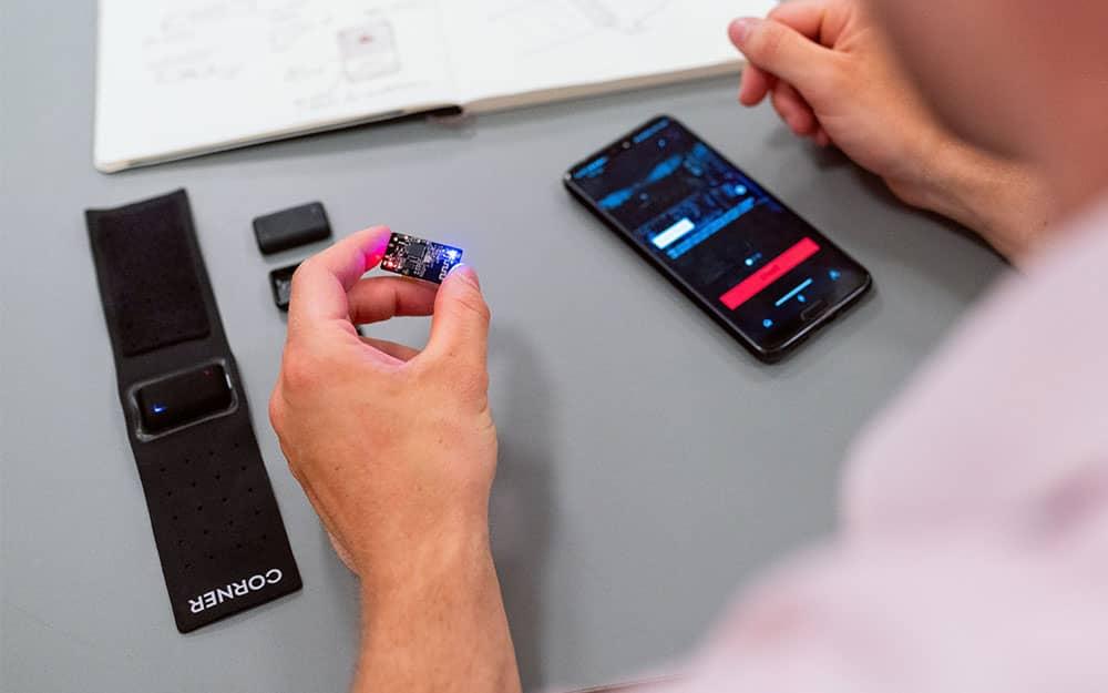 configuration d'un smartphone pour gérer la sonorisation dans un auditorium